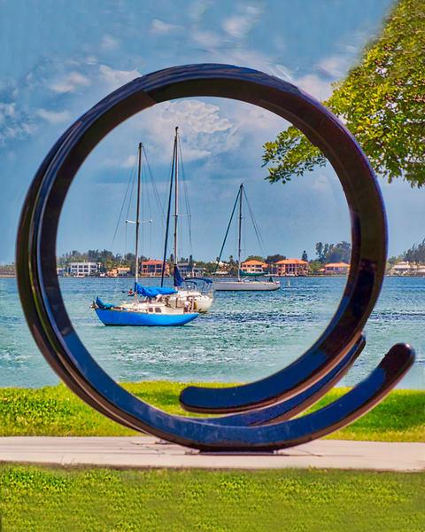 Sailboat in a Circle