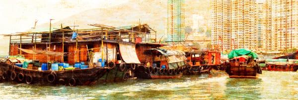 Hong Kong Harbor   Limited Edition Prints Photography Art | Doug Landreth Photography