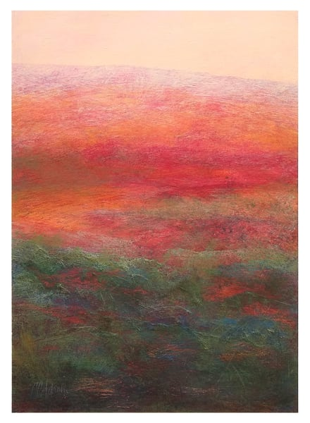 Uplands - Original Abstract Painting | Cynthia Coldren Fine Art
