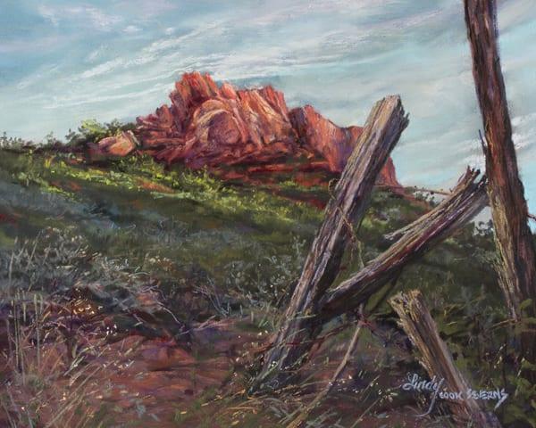 Lindy Cook Severns Art | Sunspot, original pastel