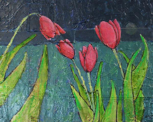 4 Tulips Talkin Before Bedtime