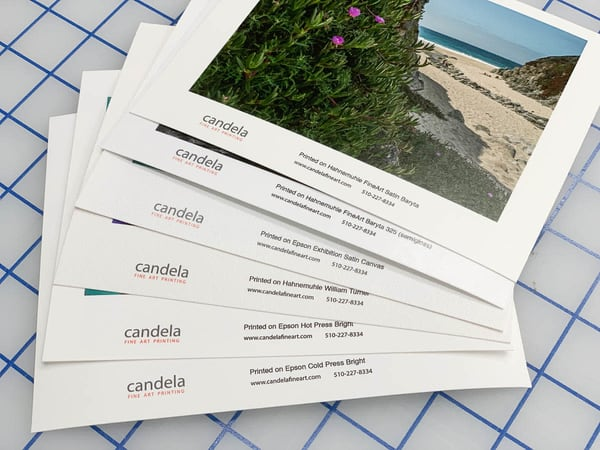 Sample Prints | Candela Fine Art Printing