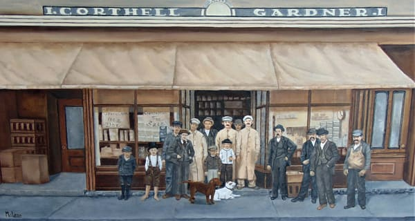 Corthell and Gardner, Original Oil Painting
