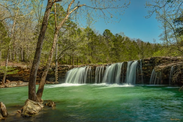 Falling Waters Waterfall 0068 Photography Art | Koral Martin Healthcare Art