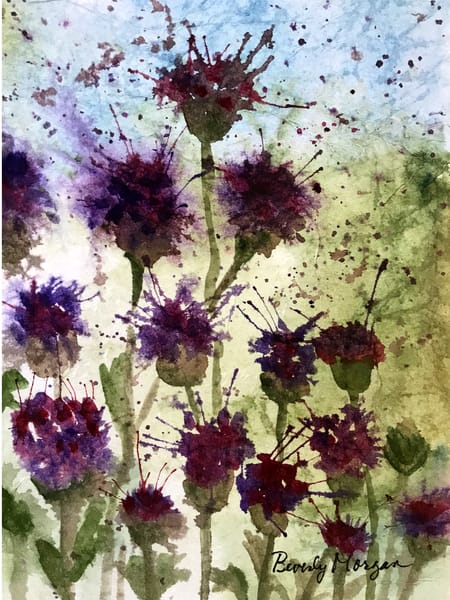 Scottish Thistles - From an Original Watercolor Painting