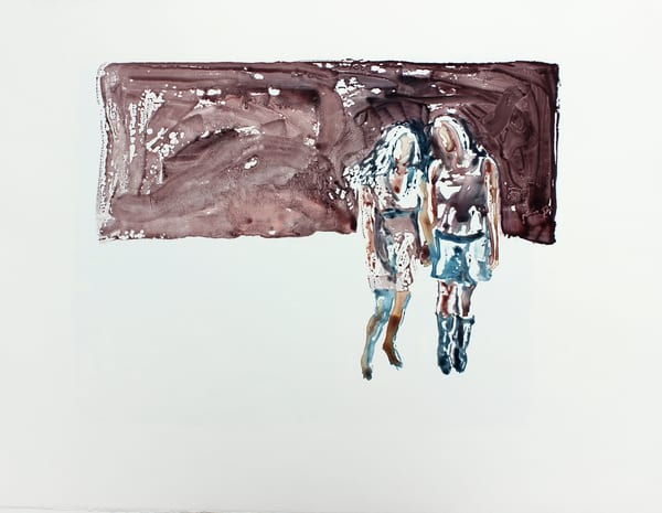 Waiting For The Tide Art | Joan Cox Art