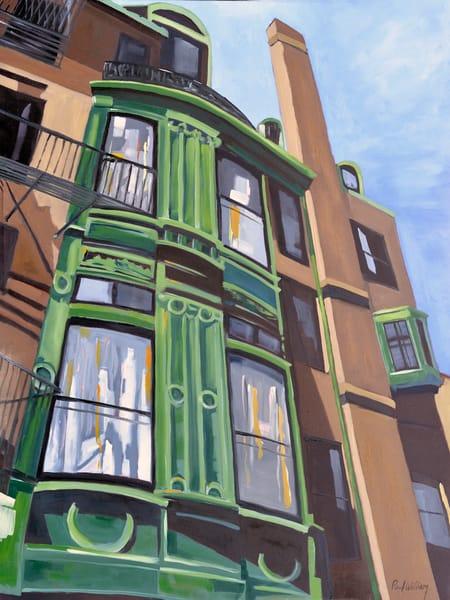 Fairfield Street print by Paul William artist | Fine Art for Sale