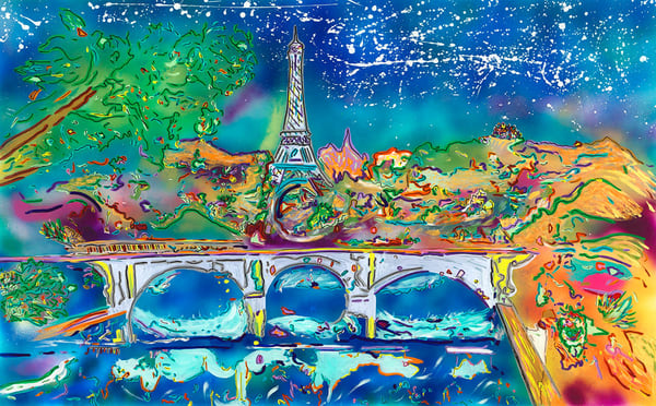 """A Night In Paris"" Art 