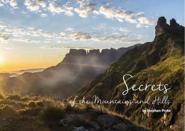 Secrets of the Mountains and Hills by Stephen Pryke