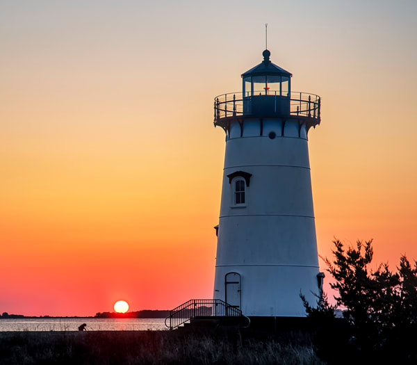 Edgartown Light Morning Prayer Photography Art | Michael Blanchard Inspirational Photography - Crossroads Gallery