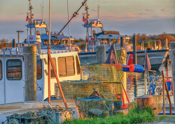 Menemsha Lobster Pots Photography Art | Michael Blanchard Inspirational Photography - Crossroads Gallery