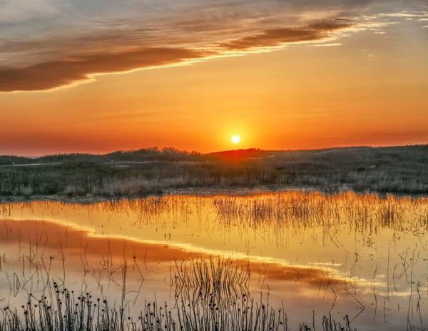 Moshup Beach Spring Sunset Clouds Photography Art | Michael Blanchard Inspirational Photography - Crossroads Gallery