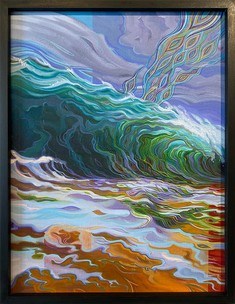 Between Two Worlds Original Painting by Spencer Reynolds