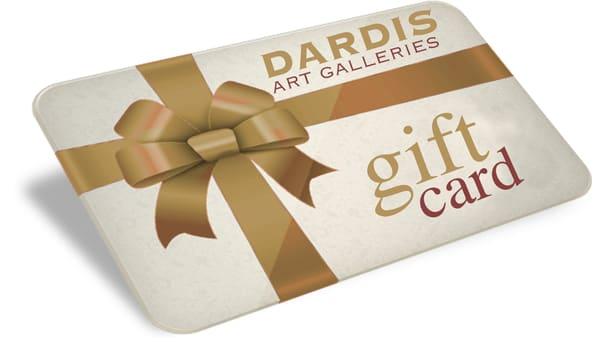 $50 Gift Card | DARDISartgalleries