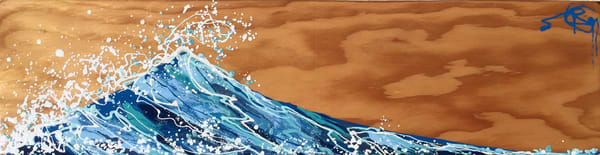 Wave Of Joy Natural I Art | buchanart