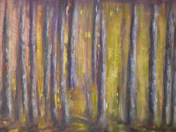 Purple Forest Art   Deb Ondo Wild Art