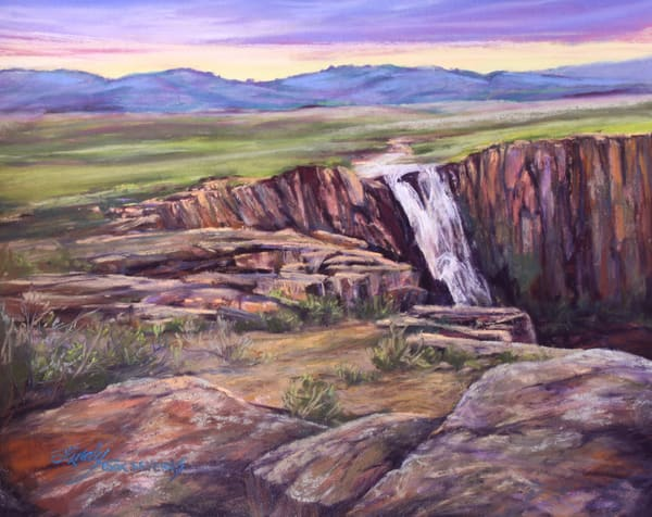 Lindy C Severns Art | Rocky Mountain Champagne original pastel