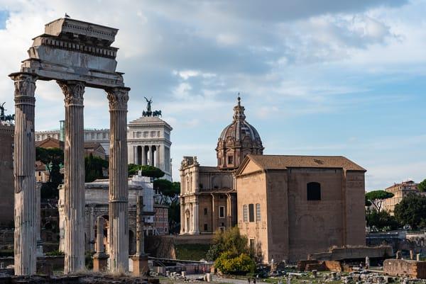 The Roman Forum I, by Jeremy Simonson