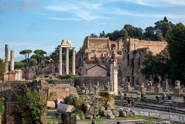 The Roman Forum III, by Jeremy Simonson