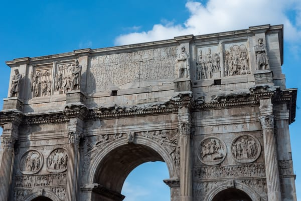 The Arch of Constantine by Jeremy Simonson