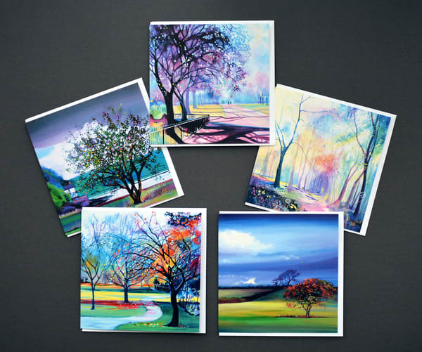 Greeting Cards Of Trees