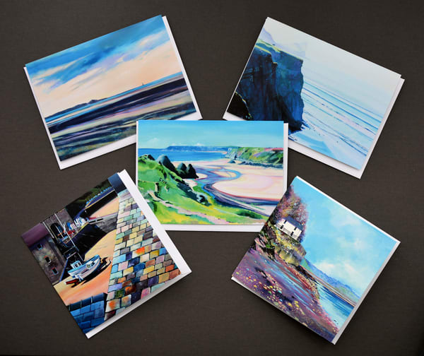 Welsh Coastal Greetings Cards