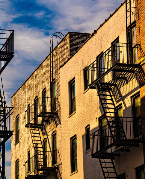 Astoria Fire Escapes, New York Photography Art | Ben Asen Photography