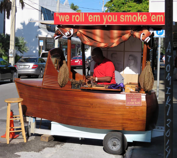 Cigar Vendor Art   DocSaundersPhotography