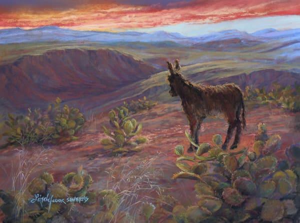 Lindy Cook Severns Art | All is Wild, enhanced print