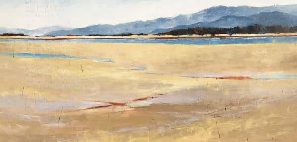 Coastal Breeze, original landscape painting by Sarah B Hansen