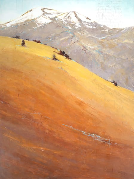Wild Connections, original landscape painting by Sarah B Hansen