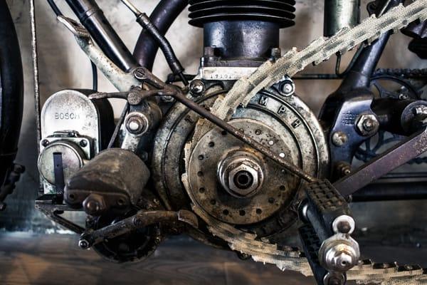Triumph Gears Photography Art | Koru Photo Designs