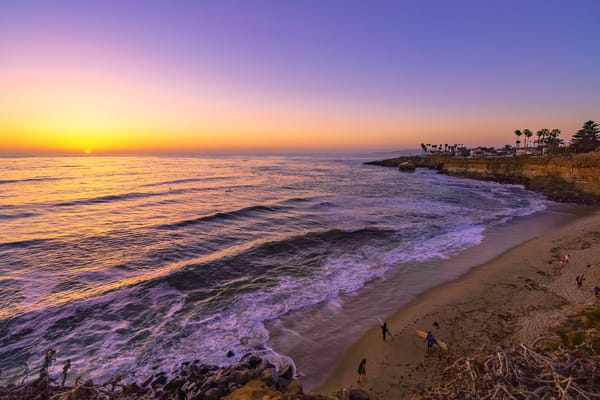 Surfers Paradise at Pacific Beach, San Diego by McClean Photography