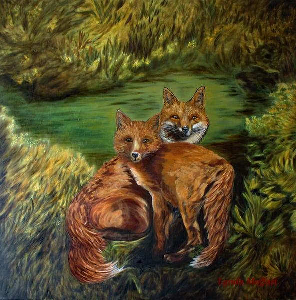 Watchful, Eyes! Art | Lynda Moffatt Fine Arts