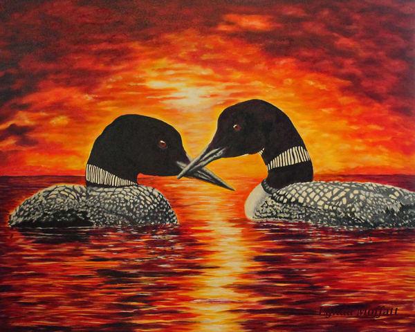 Together, Forever!  Art | Lynda Moffatt Fine Arts