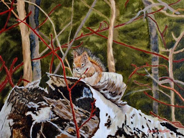 Jr.'s 1st Spring! Art | Lynda Moffatt Fine Arts