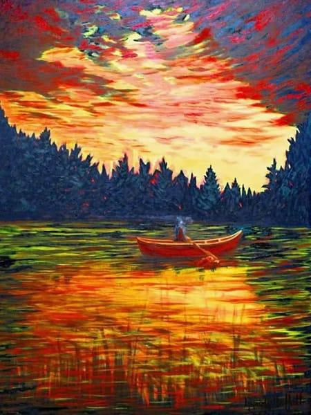 Tom Thomson Tribute Painting Art | Lynda Moffatt Fine Arts