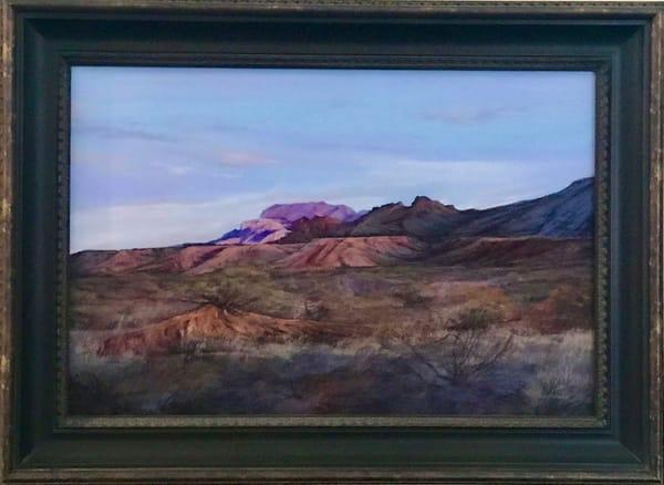 Lindy C Severns Art | Texas Twilight, original pastel