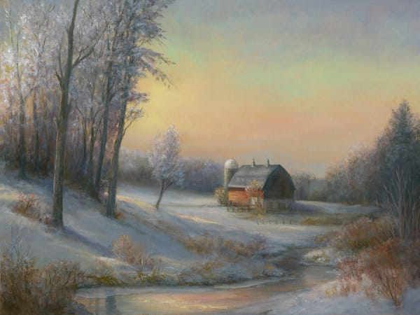 *Frosted Morning On The Farm Art | Tarryl Fine Art