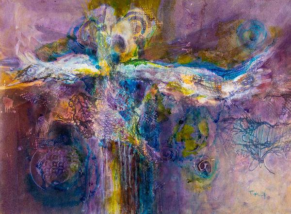 Angel Of Mercy Original Art | Terrie Haley Artist