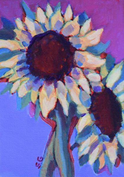 Heads Up   Original Acrylic Art | Sharon Guy