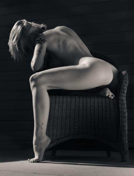 Cherish In Wicker Chair 1 Photography Art   Dan Katz, Inc.
