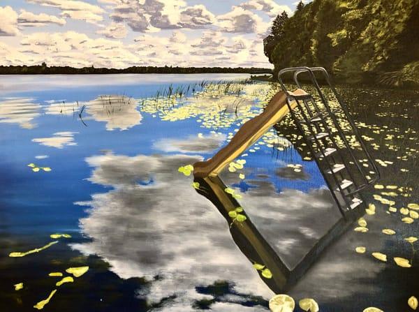 Summer Slide Art | Brendan Kramp Studio & Workshop