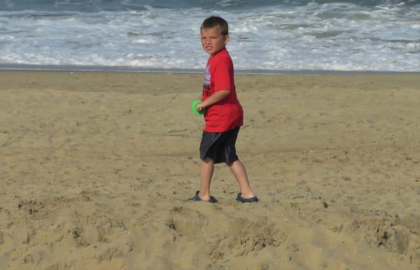 Boy Flying Kite Art   DocSaundersPhotography