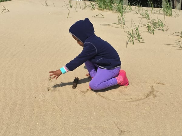 Playing In Sand Art | DocSaundersPhotography