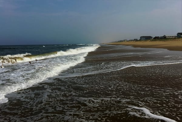 Sandbridge Beach Waves 2 Art   DocSaundersPhotography