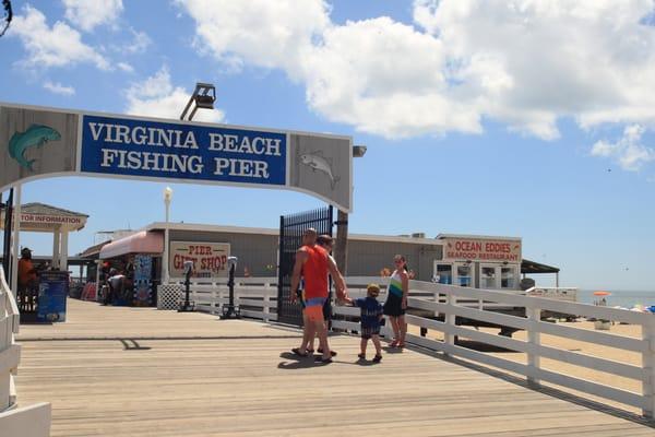 Va Beach Fishing Pier Art | DocSaundersPhotography