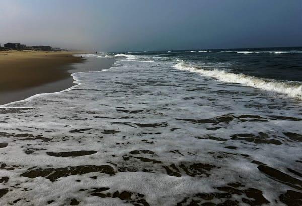 Sandbridge Beach Waves Art   DocSaundersPhotography