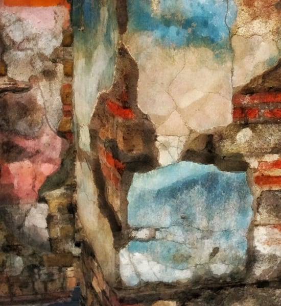 Color Of Pompeii Art | Danny Johananoff