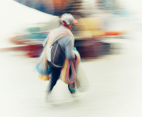 Carrying Color Art | Danny Johananoff